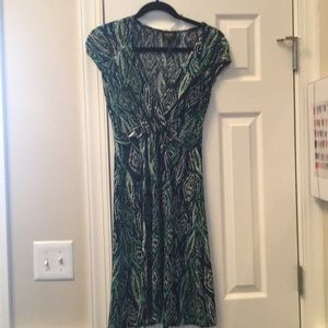 Laundry by Shelli Segal pull on dress